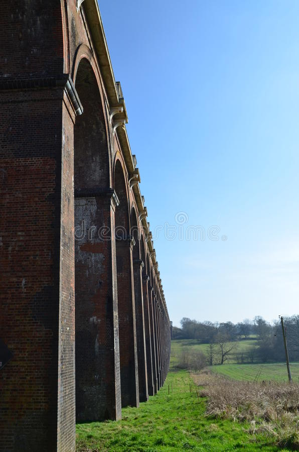 Free Ouse Valley Viaduct. Stock Photos - 38640353