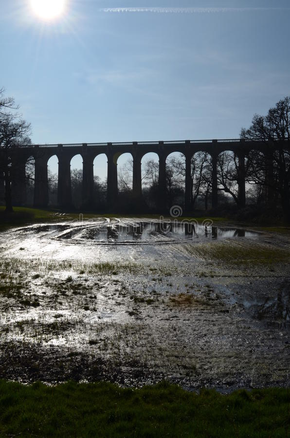 Free Ouse Valley Viaduct, England. Stock Image - 38640371