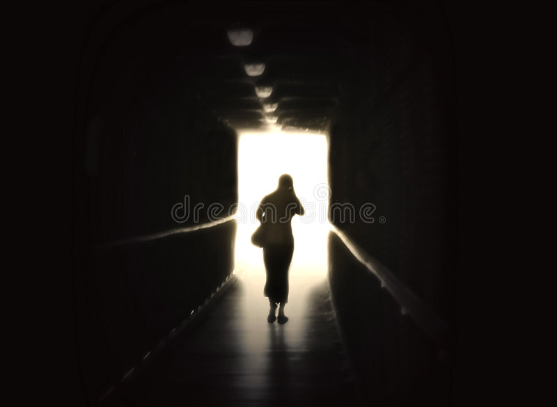 Out of the Darkness royalty free stock image
