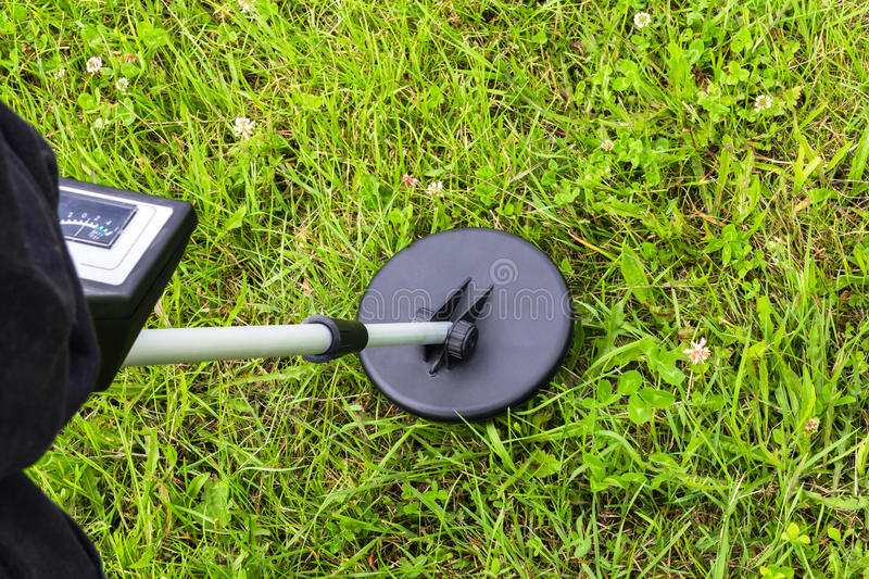 Download Out In The Field With A Metal Detector Stock Image - Image: 25738233