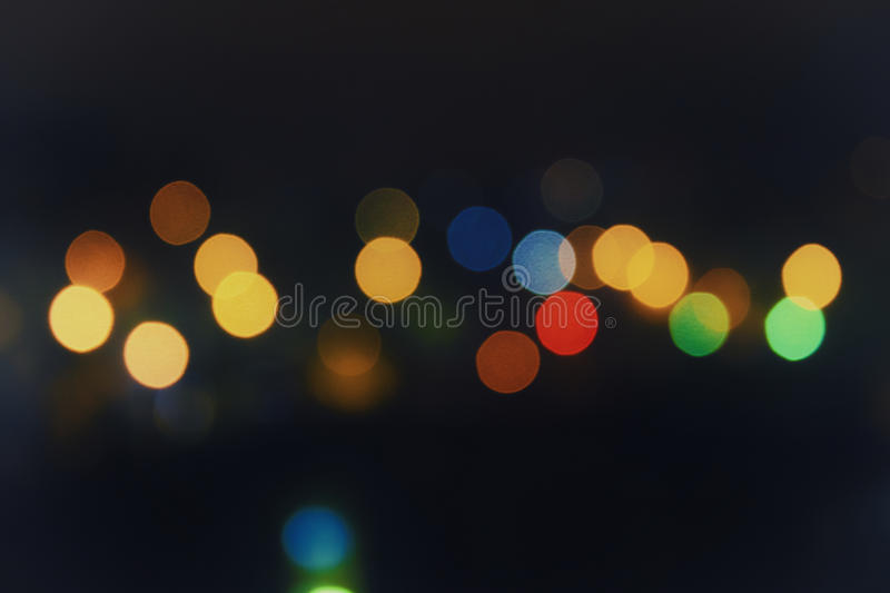 Out of focus city lights stock photos
