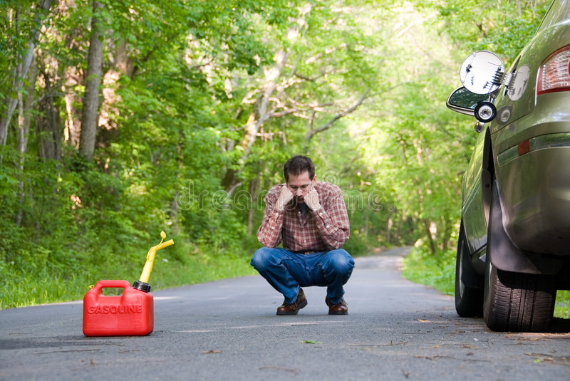 Download Out of Gas stock image. Image of cranky, angry, countryside - 739191