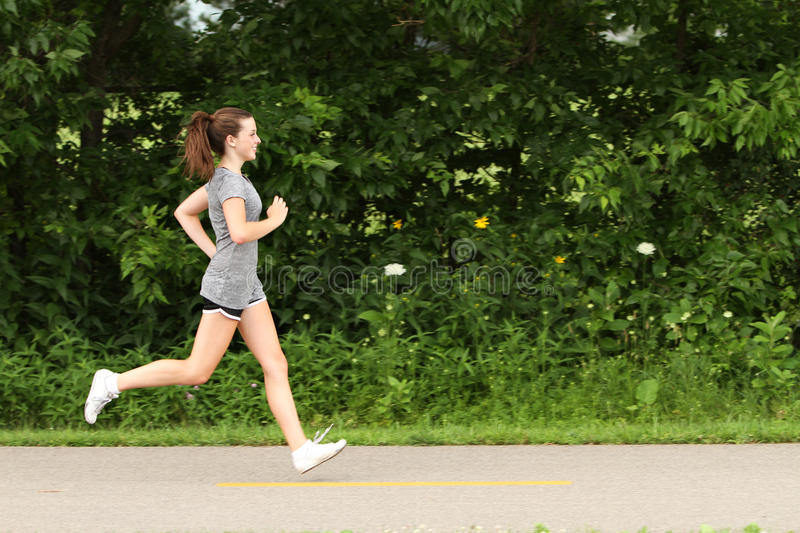 Out For A Jog Royalty Free Stock Image