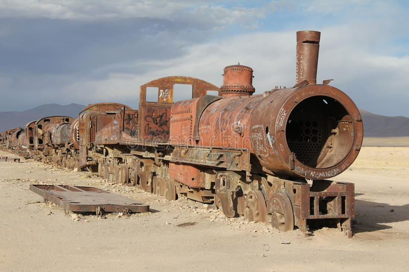 Download Out of steam stock image. Image of uyuni, rivet, tourist - 28882321