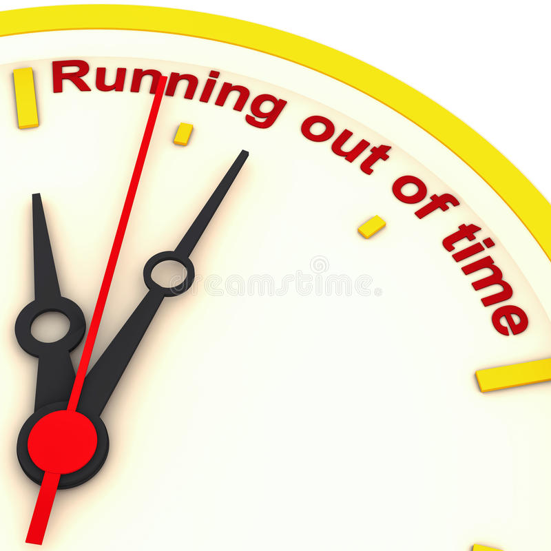 Download Out Of Time Royalty Free Stock Photography - Image: 24525347