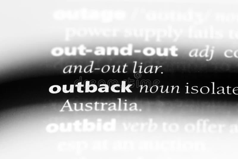 outback lizenzfreies stockfoto