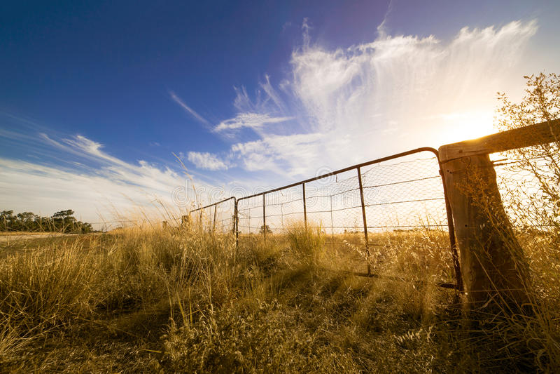 outback lizenzfreie stockfotografie