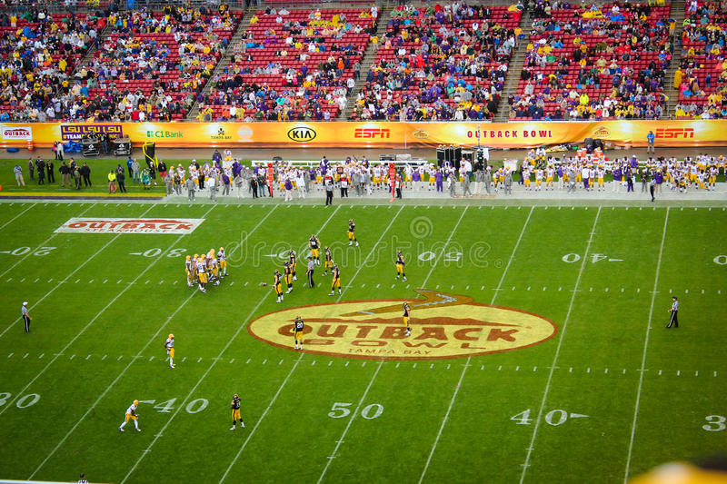 Outback Bowl 2014 royalty free stock photo