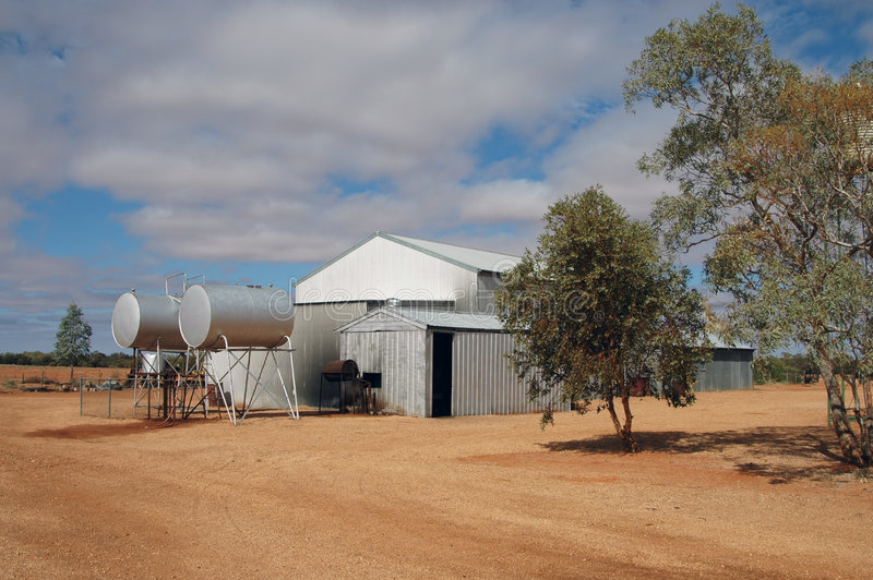 Download Outback Cattle Station Stock Photos - Image: 178543