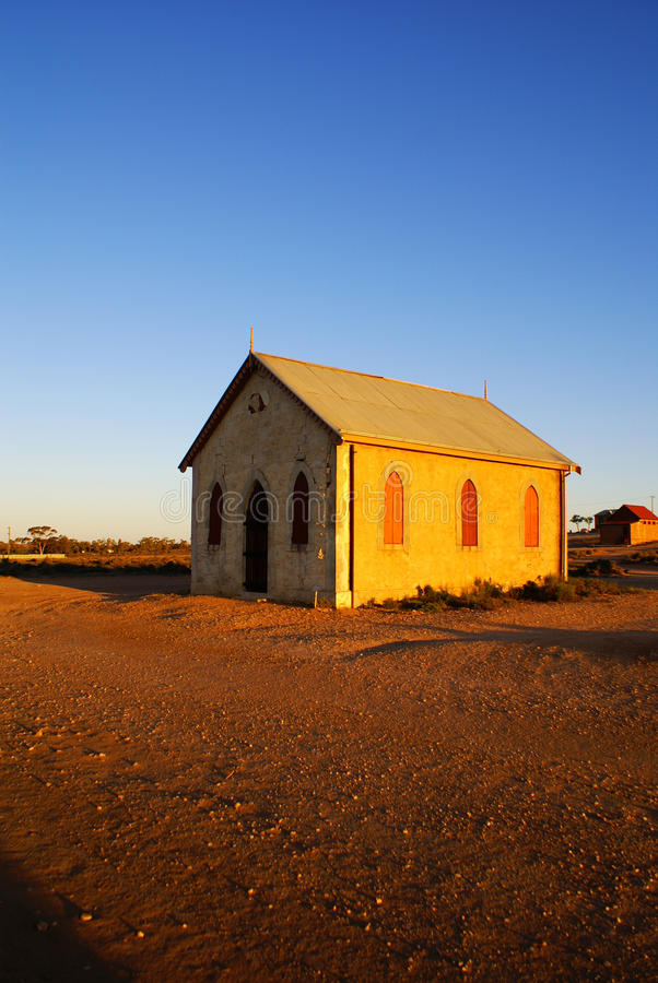 Download Outback Church In Silverton Stock Photo - Image: 20180470