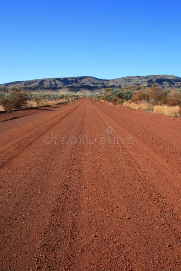 Outback Dirt Road royalty free stock image