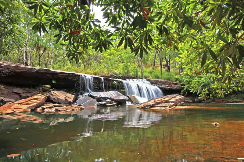 Outback Falls royalty free stock image