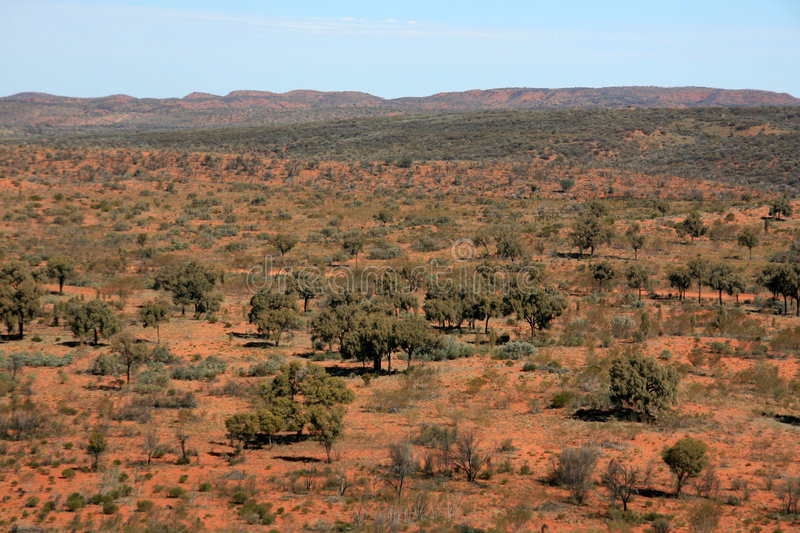 Outback - The Red Centre, Australia royalty free stock image