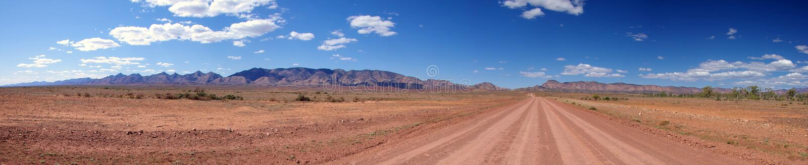 Download Outback Road & Mountain Range Stock Photo - Image: 6333214