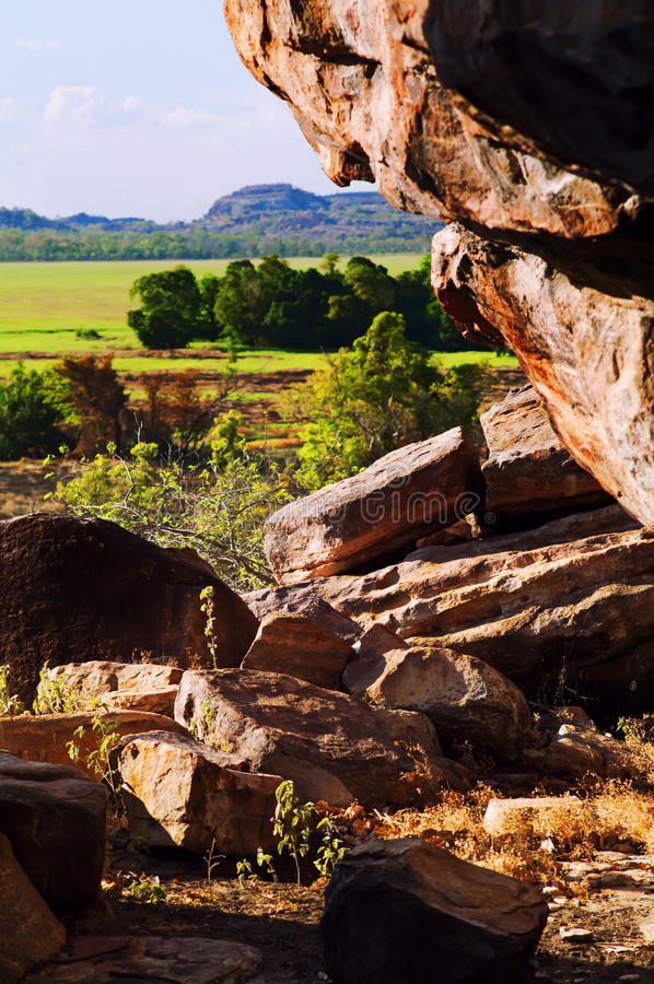 Outback Rocks royalty free stock images
