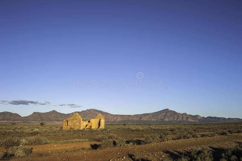 Download Outback Ruins stock image. Image of ruins, rugged, color - 28914751