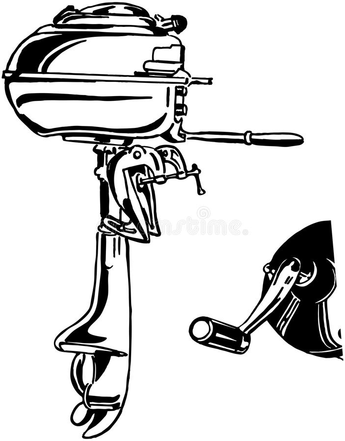 Free Outboard Motor Stock Photo - 42095980