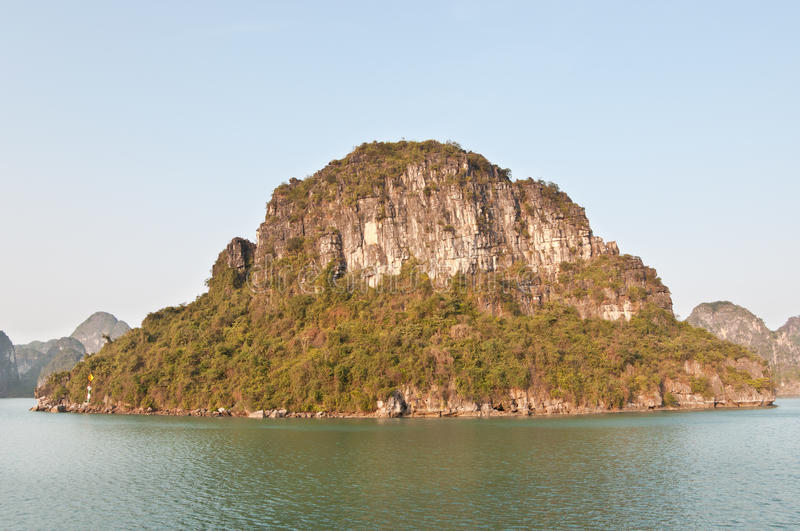 Outcropping In Halong Bay Stock Image