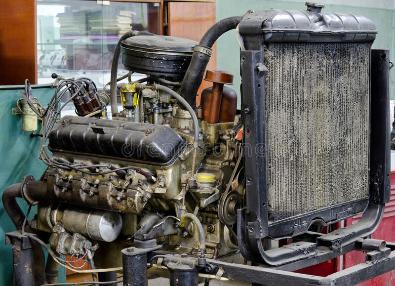 Download Outdated broken engine stock image. Image of greased - 24287957