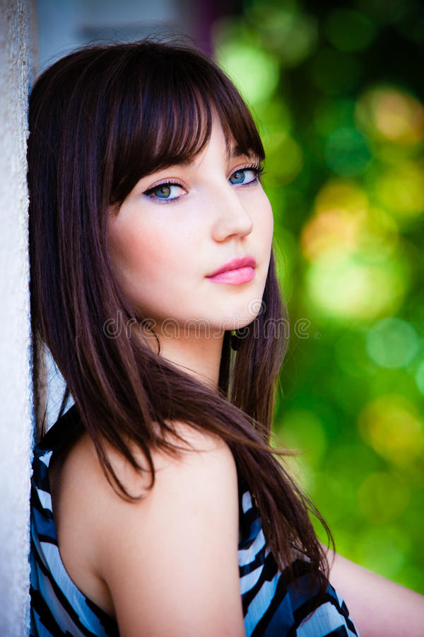 Outdeoor portrait royalty free stock images