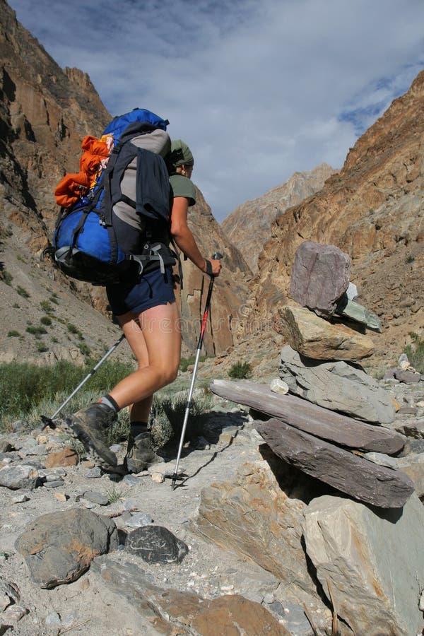 Outdoor activity - trekking