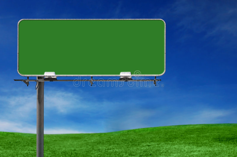 Outdoor Advertising Billboard Freeway Sign