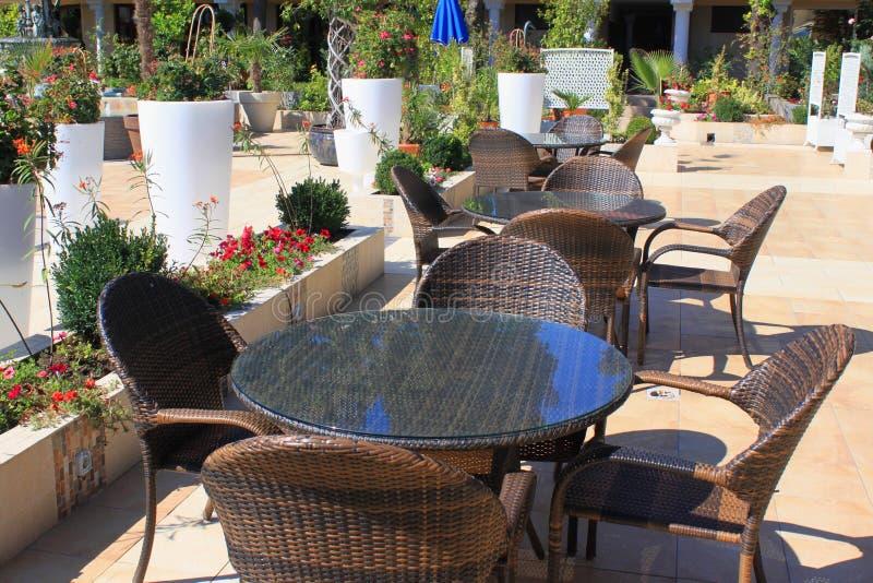 Download Outdoor Bar, Resort Patio Terrace Stock Image - Image: 33569693