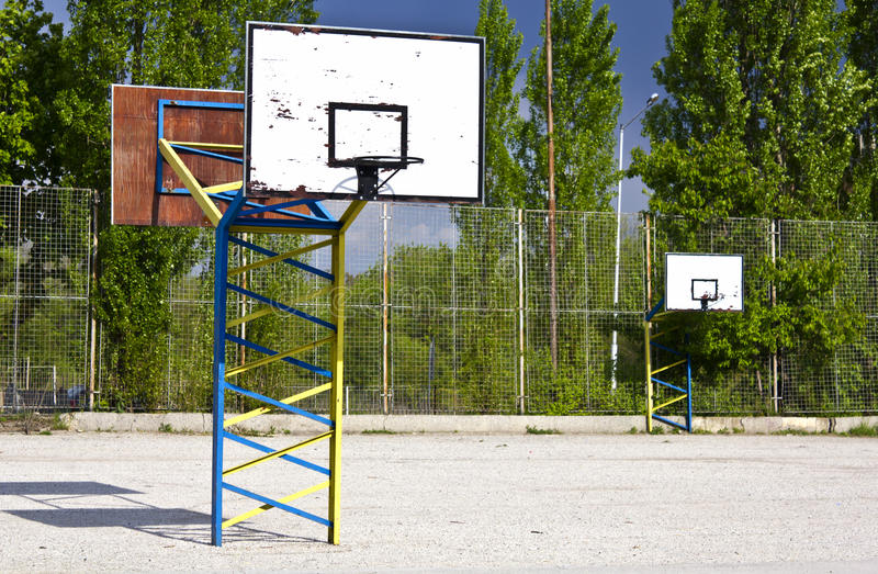 Download Outdoor basketball stock image. Image of basket, high - 20189131