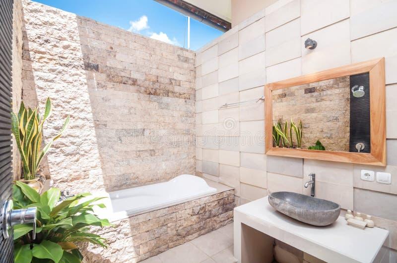 Outdoor Bathup stock photo