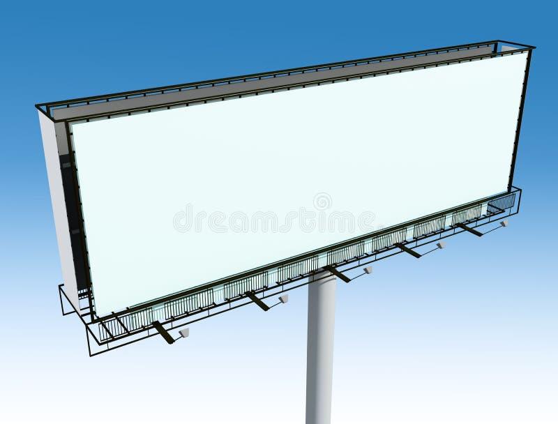 Download Outdoor billboard stock illustration. Image of built - 11460413