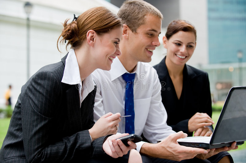 Outdoor Business stock image