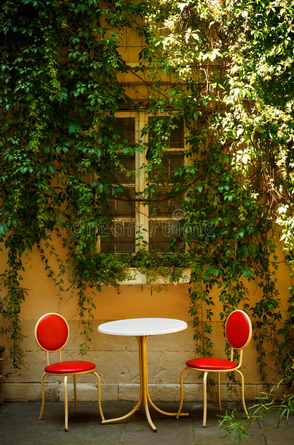 Download Outdoor cafe stock image. Image of summer, yellow, window - 16655919