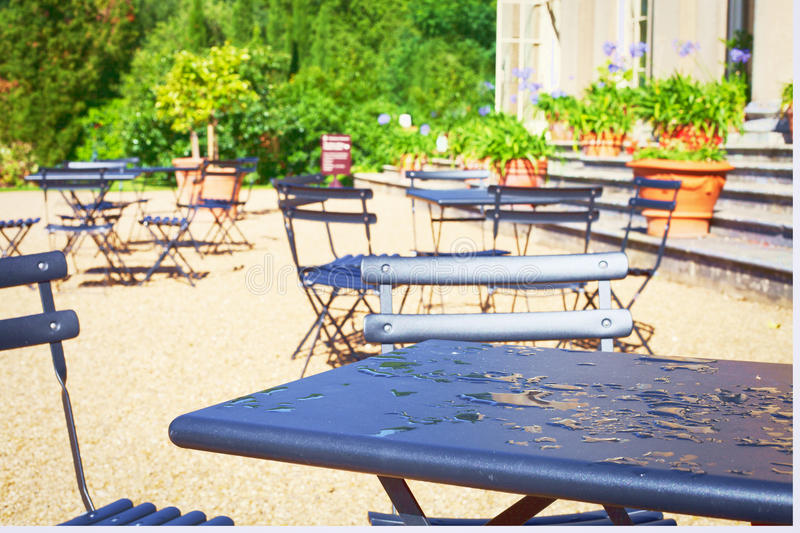 Download Outdoor cafe stock photo. Image of diner, cafeteria, breakfast - 26626702