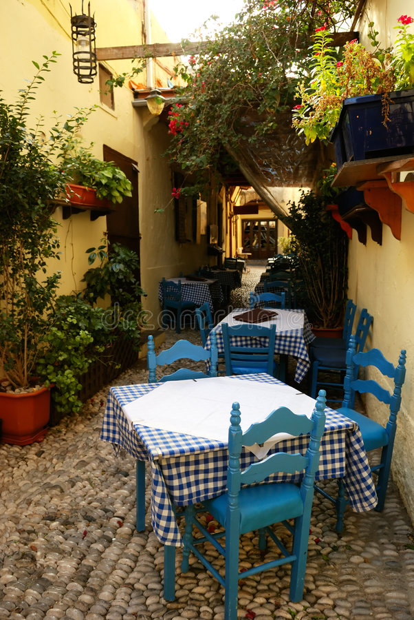 Download Outdoor cafe stock image. Image of building, pizzeria - 7033269