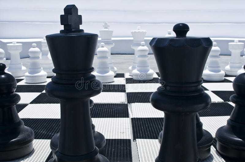 Download Outdoor Chessboard Royalty Free Stock Image - Image: 17851776