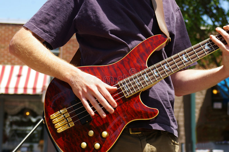 Outdoor concert royalty free stock images