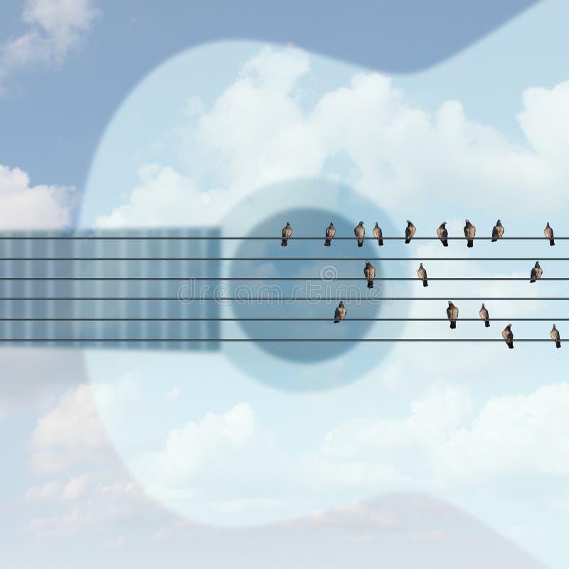 Outdoor Concert vector illustration