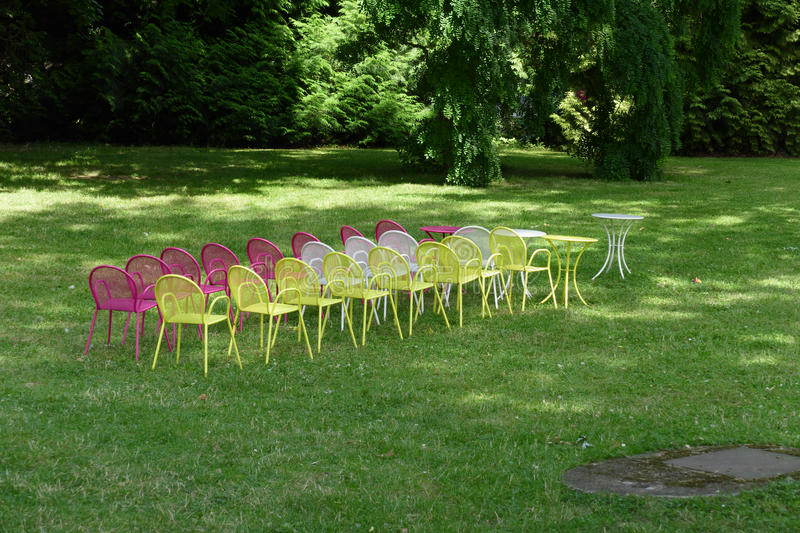 Outdoor conference royalty free stock image