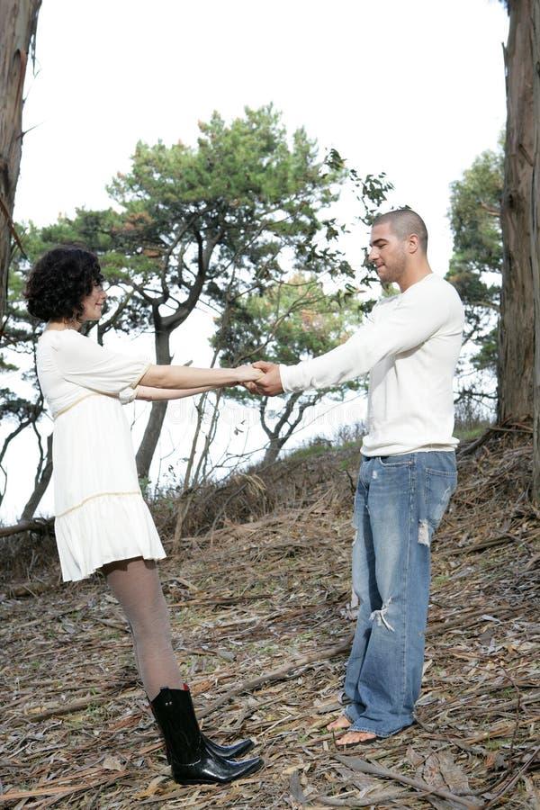 Outdoor Couple royalty free stock photos
