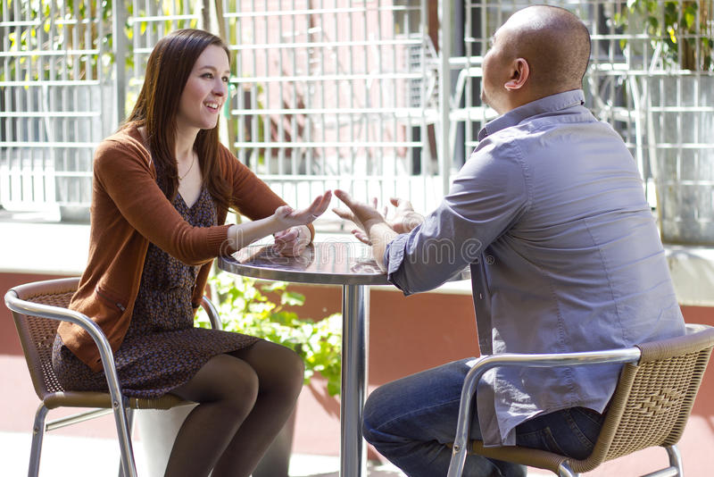 Outdoor Date stock images