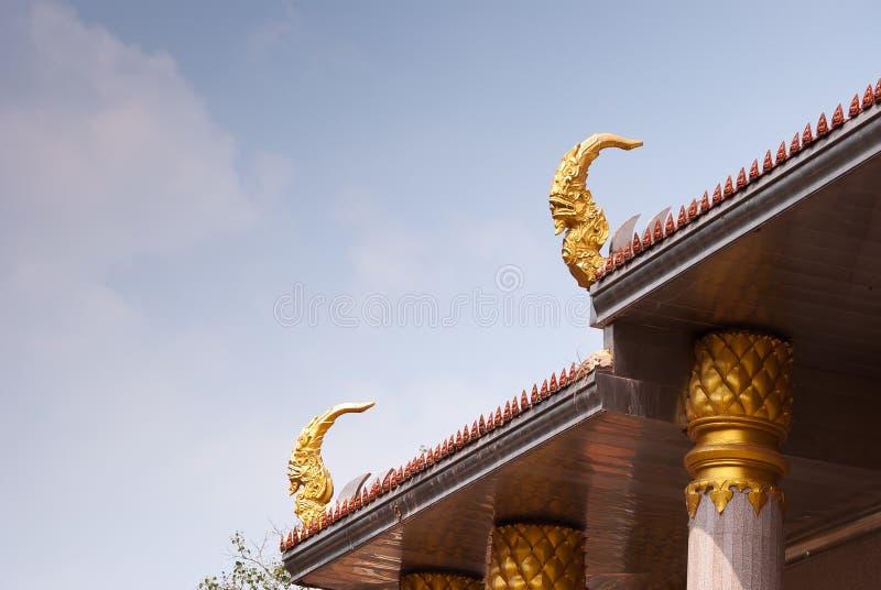 Outdoor Design Temple In Thailand Stock Photo