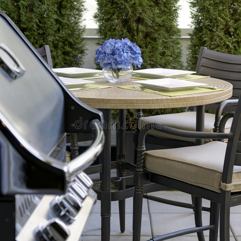 Free Outdoor Dining Entertaining BBQ Royalty Free Stock Image - 33608876