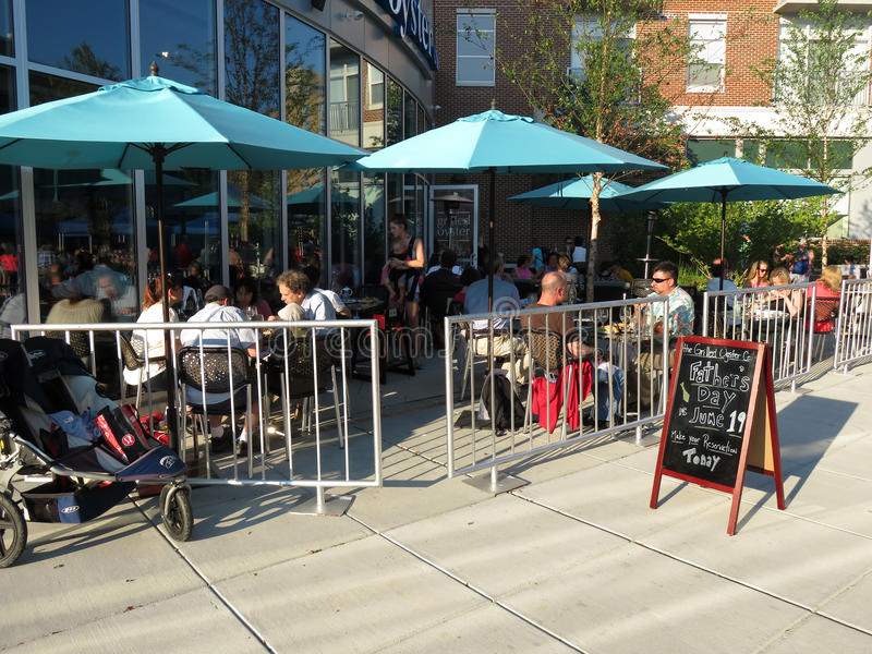 Outdoor Dining royalty free stock photography