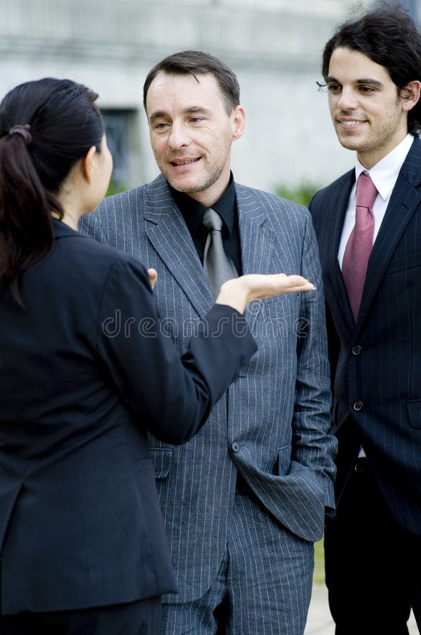 Download Outdoor Discussion Stock Image - Image: 2201471