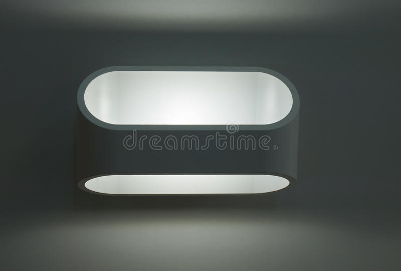 Outdoor electric lamp stock images