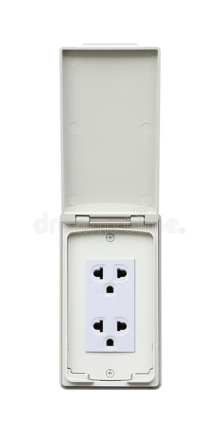 download outdoor electrical outlet stock image image of cover
