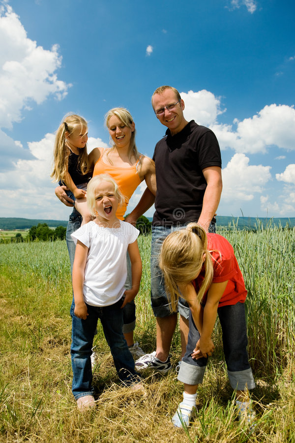 Download Outdoor excursion stock image. Image of smile, grass, children - 6417589