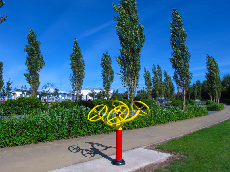 Download Outdoor Exercise Machine Stock Photography - Image: 26101502