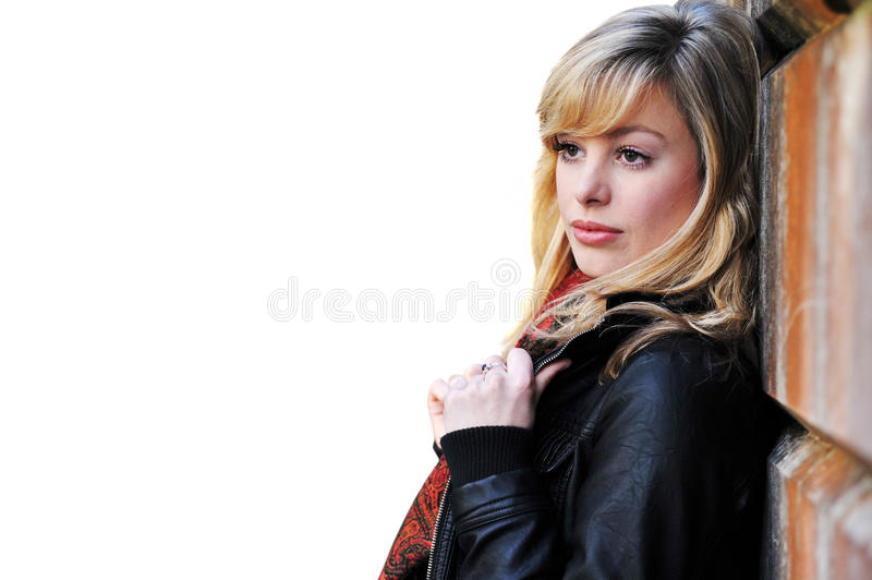 Outdoor Fashion Portrait royalty free stock images