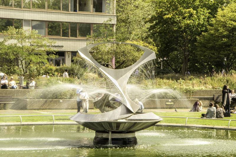 Outdoor Fountain royalty free stock images